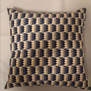 Two sided hand-made pillow
